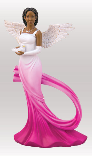 Sash Angel in Fuchsia