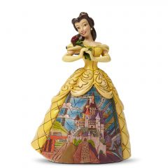 Belle with Castle Dress