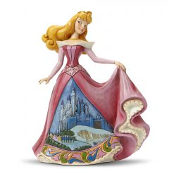 Aurora with Castle Dress