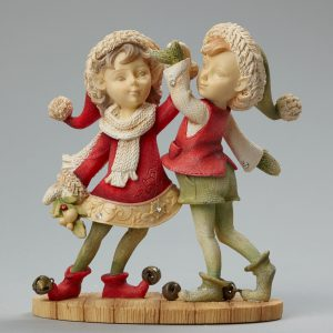 Boy and Girl Elf Dancing