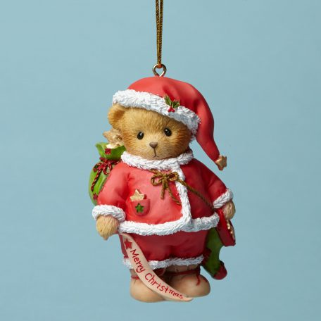 Merry Christmas Santa Ornament