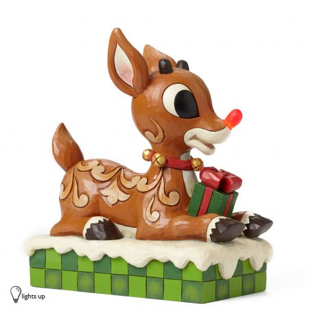 Large Rudolph with Lited Nose