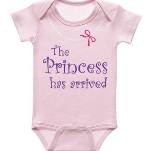 Diaper Shirt - The Princess has arrived 32224