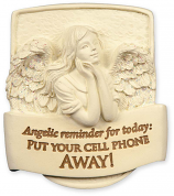 Put Your Cell Phone Away Angel Visor Clip 15754