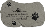 Best Friends Pet Remembrance Bereavement Garden Stepping Stone 49613