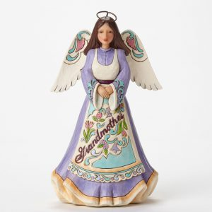 Jim Shore Heartwood Creek Grandmother Angel Enesco 4047058