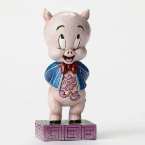 Jim Shore Heartwood Creek Looney Tunes Porky Pig Enesco 4049385