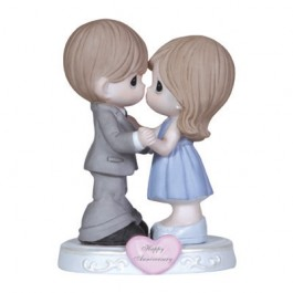 Precious Moments Porcelain General Anniversary Figurine 123019