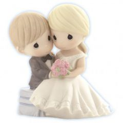 Precious Moments Porcelain Bride and Groom Wedding Figurine 830023