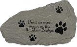 Rainbow Bridge Pet Remembrance Bereavement Garden Stepping Stone 49612