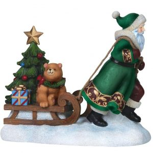 Pipka Limited Edition Along For The Ride With Santa 7151205